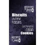 Biscuits avoine raisin